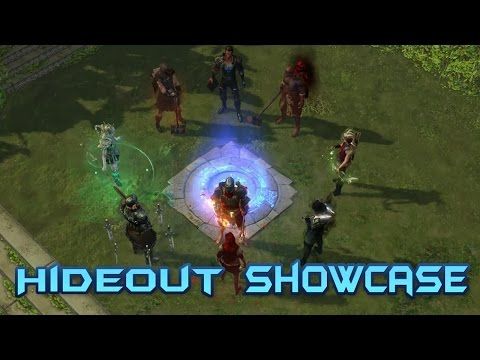 Path Of Exile ALL Hideouts Showcase, Choose your hideout ahead of time