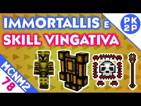 Skill Vulcanism + Dimensão Dungeon Immortallis • Minecraft NM2 #78