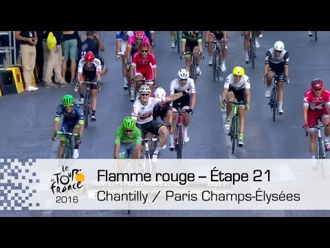 Flamme rouge - Étape 21 (Chantilly / Paris Champs-Élysées) - Tour de France 2016