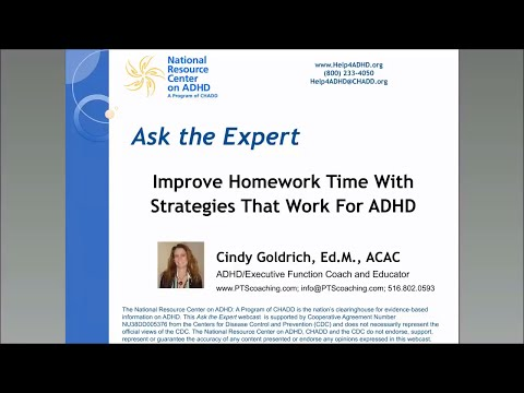 Improve Homework Time with Strategies That Work For ADHD