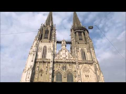Regensburg, Germany: The cathedral and other churches