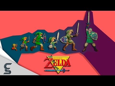 The Evolution of Video Game Graphics: The Legend of Zelda (Home Console Edition)