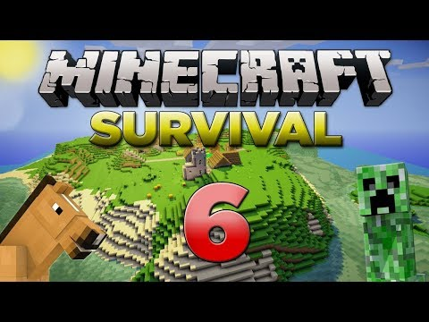 i've-made-a-cow-farmer!---minecraft---survival---part-6