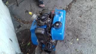 одноцилиндровый дизельный двигатель