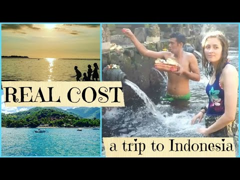 RealCost series: PLANNING YOUR TRIP TO INDONESIA (BALI AND GILI AIR)