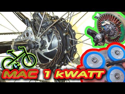 Мотор колесо 500w - 1000w MAC 8T Сборка электро велосипеда