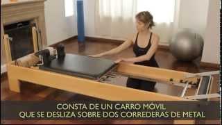 Cómo es una camilla de Pilates reformer