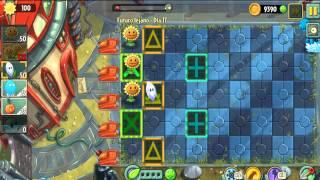 Plants vs Zombies 2 Futuro Lejano dia 16,17,18
