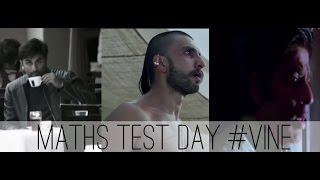 Vine 10 : MATHS Test day in School !!