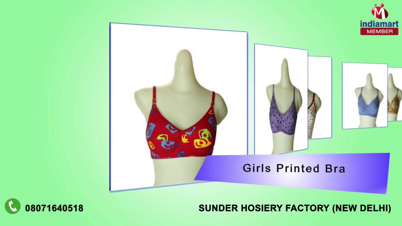7260dc008f Foam And Cotton Bra by Sunder Hosiery Factory