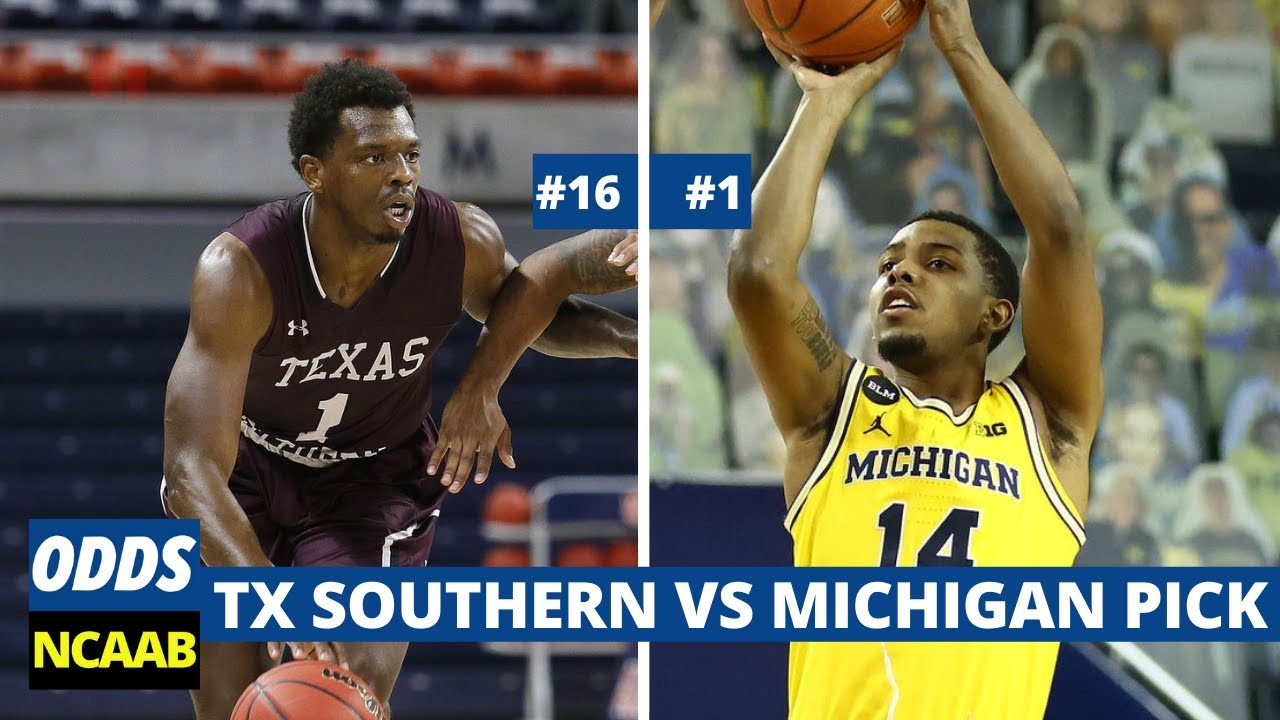 Michigan basketball will play Texas Southern in the first round of ...