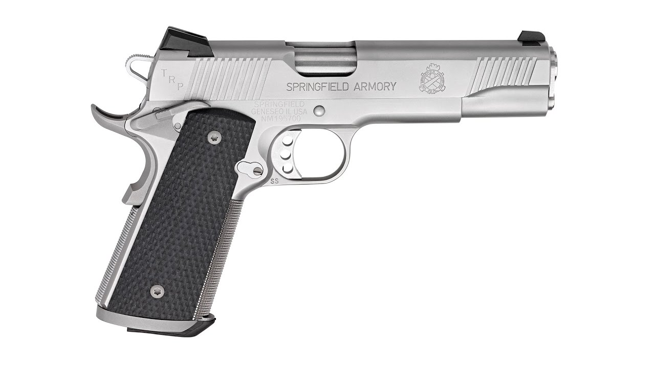 Range Time with the Springfield Armory TRP