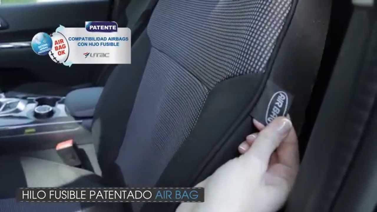 Fundas para asiento de coche a medida youtube - Fundas para auto ...