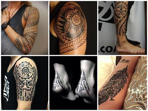 Gorgeous Polynesian Tattoo Design Ideas