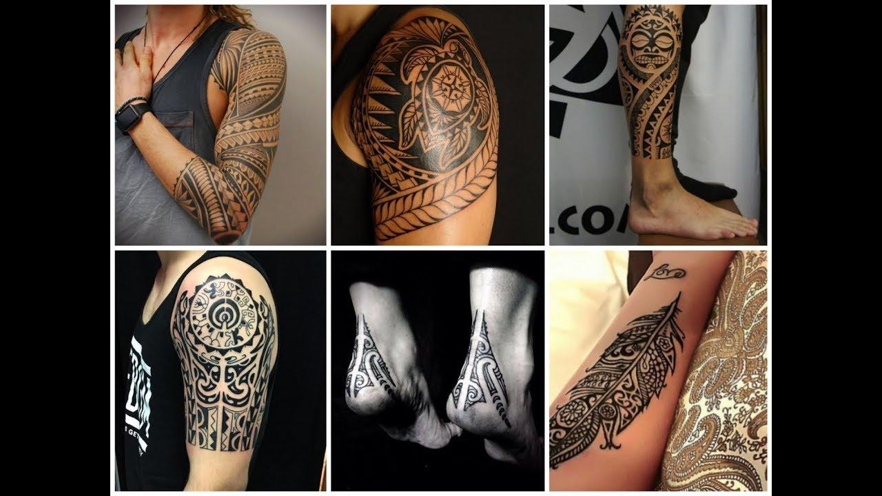 Gorgeous Polynesian Tattoo Design Ideas Youtube