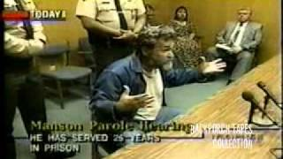PAROLE Hearing (1) Charles Manson Corcoran State Prison 1997 Backporch Tapes Collections
