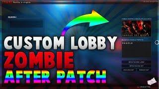 *1.09* Bo4 ZOMBIE CUSTOM LOBBY GLITCH 🔥 | ONLINE CUSTOM MUTATION XP GLITCH AFTER PATCH 1.09
