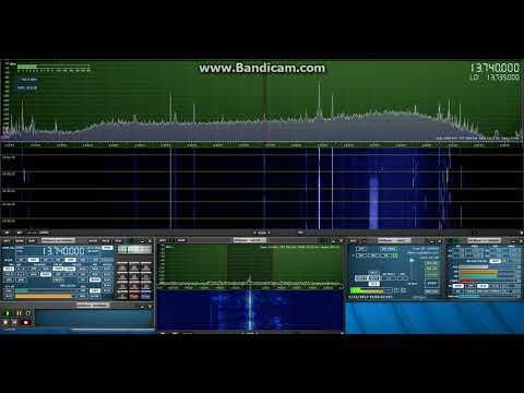 Radio France Int'l, 13740 kHz, 23 SEP 2017, 19:55 UTC