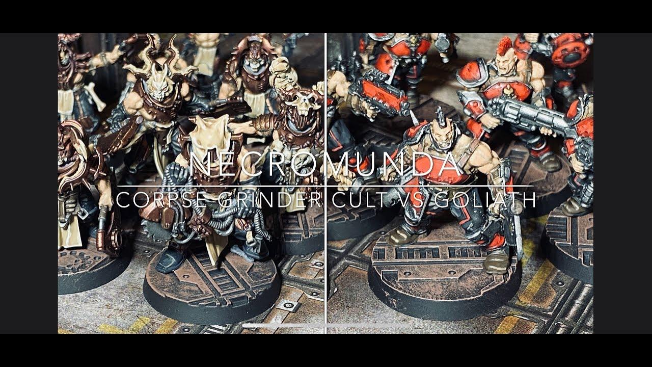 Download Necromunda Montage Battle Report Ep 6 Corpse Grinder Cult vs House Goliath