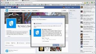 Facebook - How to Share on a Friend's Timeline