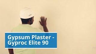 Gyproc Gypsum Plaster on RCC/Bricks/Blocks