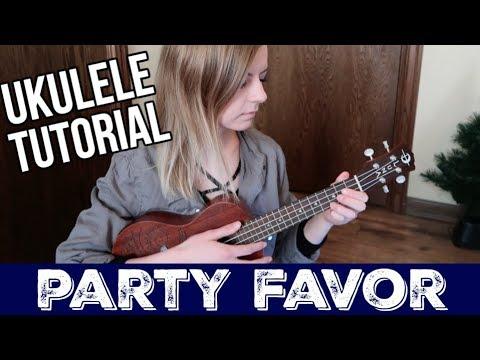 Party Favor - Billie Eilish | UKULELE TUTORIAL
