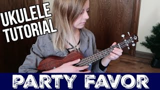party favor - Billie Eilish UKULELE TUTORIAL