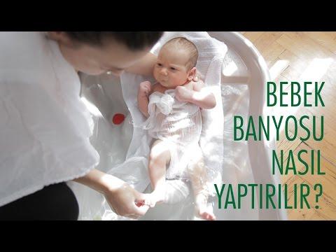 Yenidoğan Bebek Banyosu Nasıl Yaptırılır? | Acemi Anne