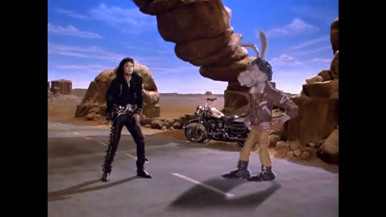 Michael Jackson And Spike Bunny Dance Off Youtube