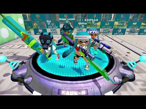 Splatoon - Ink Fest [Turf Wars] - Wii U Gameplay