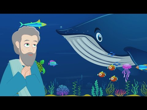 Jonah And The Whale | Stories Of God I Animated Children's Bible Stories | Bedtime Stories For Kids