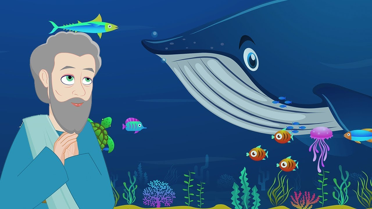 Jonah and the Whale | Stories of God I Animated Children's Bible Stories | Bedtime Stories For