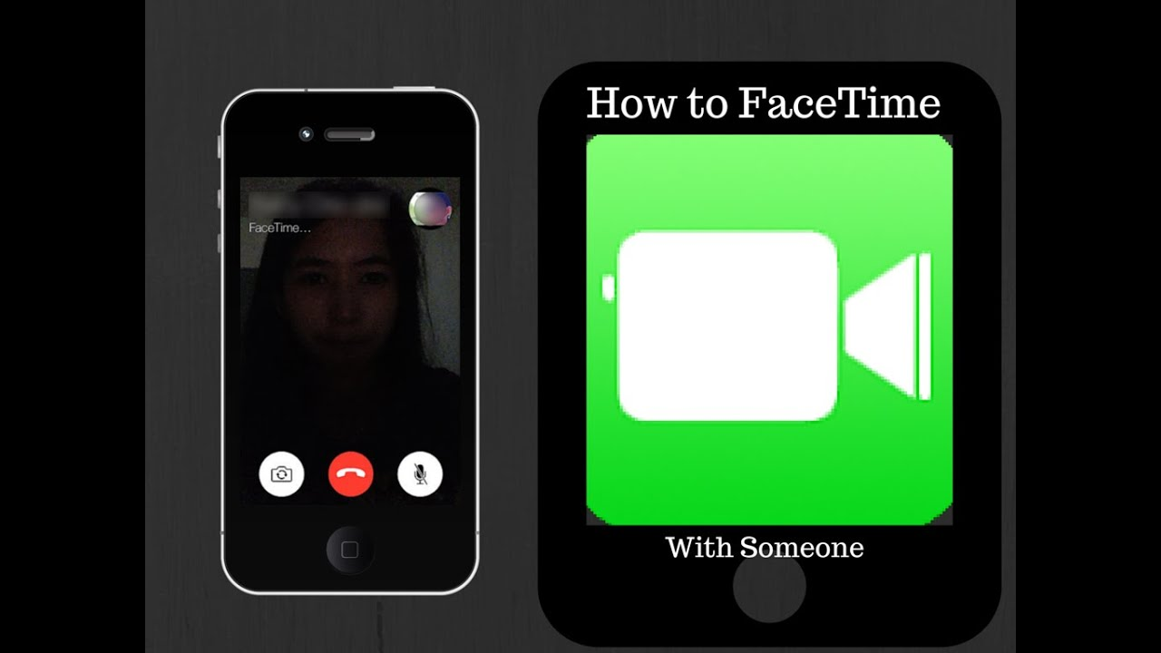 How to FaceTime with Someone YouTube