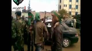 فيديو رقص جنود القذافي عندما كانو في مصراتة قبل سحقهم