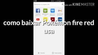 Como baixar o arquivo do Pokémon fire red usa