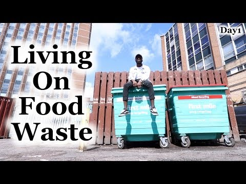Living on Food Waste - Day1