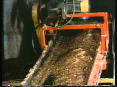 Производство бруса из древесных отходов