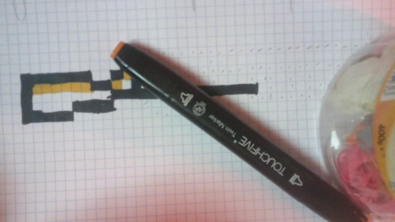 Tuto Pixel Art Dun Fusil à Pompe