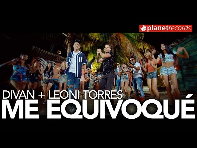 DIVAN Feat. LEONI TORRES - Me Equivoqué (Official Video by Charles Cabrera)