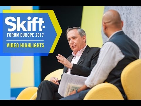InterContinental Hotels Group CEO Richard Solomons at Skift Forum Europe 2017
