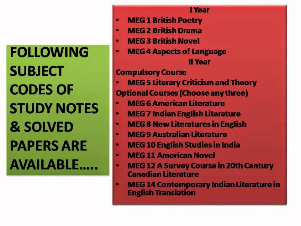 ignou creative writing in english study material Symbiosis centre for distance learning - advanced diploma in creative writing in english (adce) banaras hindu university - diploma in office management & business communications (dombc) note: the above courses are picked automatically by the website for indicative purpose only and does not mean that the university treats the.