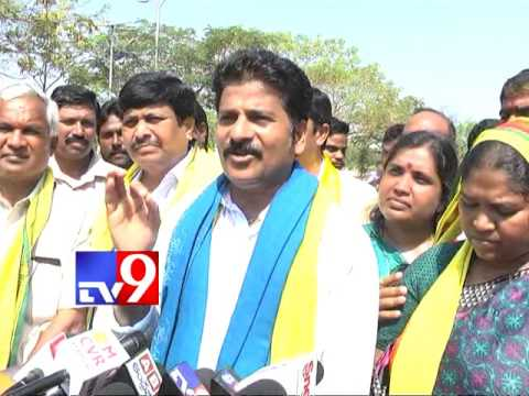Revanth Reddy padayatra in Warangal District - TV9