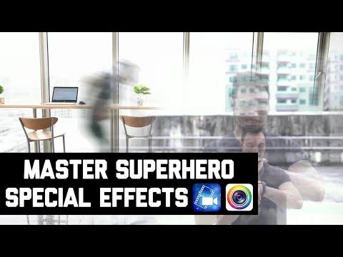 Master Superhero Special Effects With PowerDirector & PhotoDirector Mobile Apps