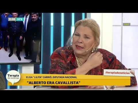 Carrió afirmó que Alberto Fernández es capaz de traicionar a Cristina