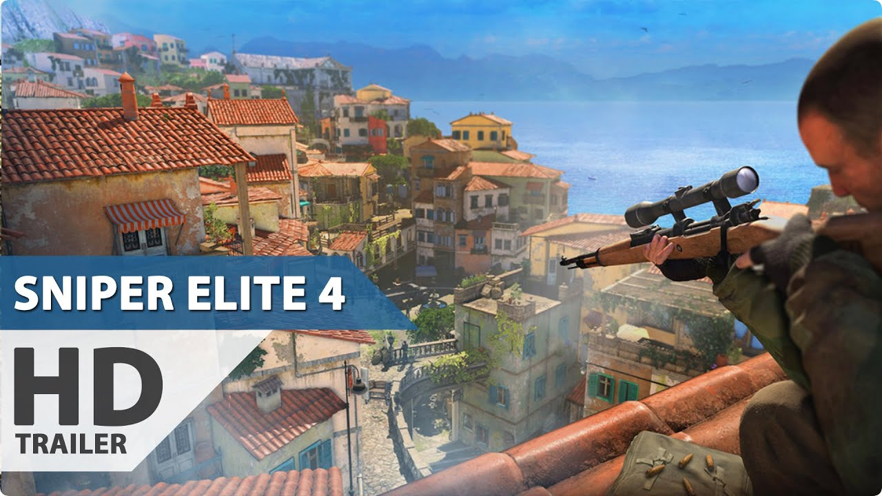Sniper Elite 4 Gameplay Trailer (1080p HD)