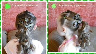 Shamrock Ponytail Hairstyle