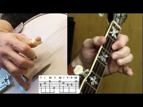 "5-String Banjo Instructional Tutorial: ""I'll Fly Away"""