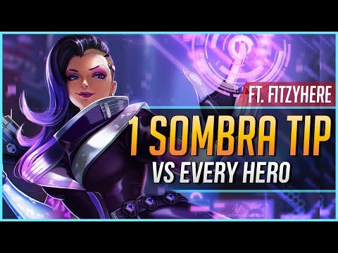 1 SOMBRA TIP for EVERY HERO ft. FitzyHere