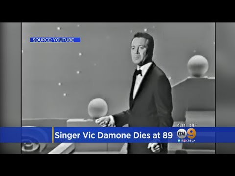 Golden Era Crooner Vic Damone Dies At 89