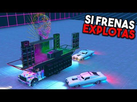 SI FRENAS EXPLOTAS SÚPER DIFICIL! - GTA 5 ONLINE - GTA V ONLINE